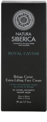 Natura Siberica Royal Caviar zpevňující pleťový krém s kaviárem 3