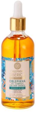 Natura Siberica Sea-Bucktorn aceite para el crecimiento del cabello