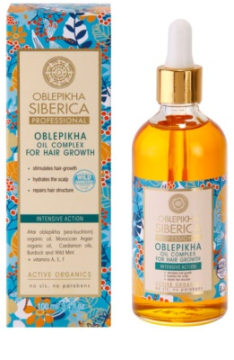 Natura Siberica Sea-Bucktorn olje za rast las 1