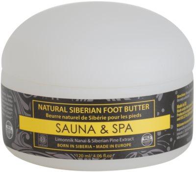Natura Siberica Sauna and Spa tratamiento regenerador  para pies