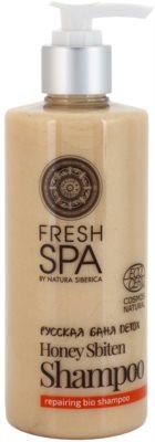 Natura Siberica Fresh Spa Bania Detox erneuerndes Natur-Shampoo