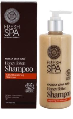 Natura Siberica Fresh Spa Bania Detox obnovující přírodní šampon 1