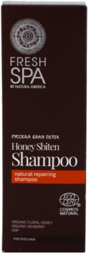Natura Siberica Fresh Spa Bania Detox obnovující přírodní šampon 2