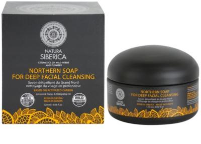 Natura Siberica Wild Herbs and Flowers детоксикиращ сапун за лице за дълбоко почистване 1
