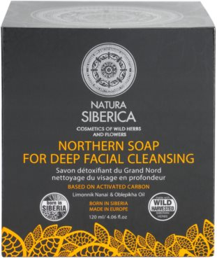 Natura Siberica Wild Herbs and Flowers детоксикиращ сапун за лице за дълбоко почистване 3