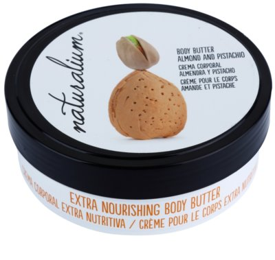 Naturalium Nuts Almond and Pistachio nährende Body-Butter 1