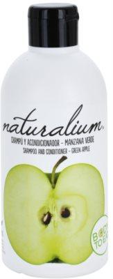 Naturalium Fruit Pleasure Green Apple champú y acondicionador