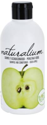 Naturalium Fruit Pleasure Green Apple Shampoo mit Conditioner