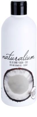 Naturalium Fruit Pleasure Coconut gel de ducha nutritivo