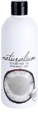 Naturalium Fruit Pleasure Coconut gel de dus hranitor