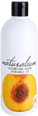 Naturalium Fruit Pleasure Peach gel de ducha nutritivo