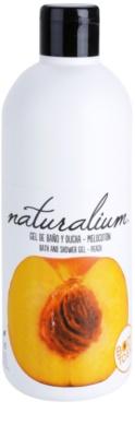 Naturalium Fruit Pleasure Peach поживний гель для душу