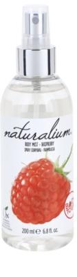 Naturalium Fruit Pleasure Raspberry odświeżający spray do ciała