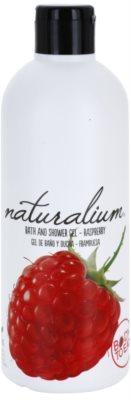 Naturalium Fruit Pleasure Raspberry gel de ducha nutritivo