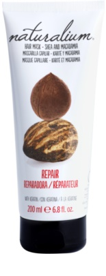 Naturalium Nuts Shea and Macadamia regenerační maska s keratinem