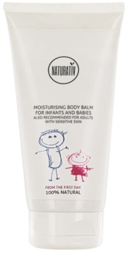 Naturativ Baby hydratační tělový balzám pro citlivou pokožku