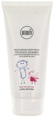 Naturativ Baby vlažilni balzam za telo za občutljivo kožo