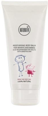 Naturativ Baby хидратиращ балсам за тяло за чувствителна кожа
