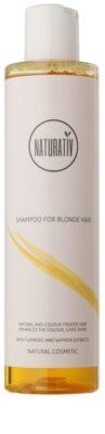 Naturativ Hair Care Blond szampon podkreślający kolor i połysk włosów