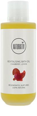 Naturativ Body Care Revitalising aceite de baño con efecto humectante