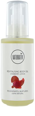 Naturativ Body Care Revitalising tělový olej pro jemnou a hladkou pokožku