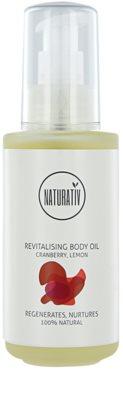 Naturativ Body Care Revitalising testápoló olaj a finom és sima bőrért
