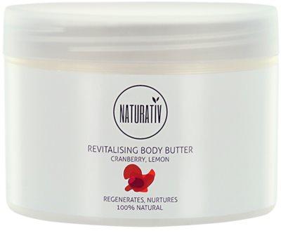 Naturativ Body Care Revitalising maslo za telo z vlažilnim učinkom