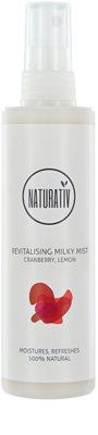 Naturativ Body Care Revitalising erfrischender Milch-Nebel mit feuchtigkeitsspendender Wirkung