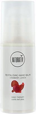 Naturativ Body Care Revitalising crema de maini hidratanta pentru ten uscat si iritat