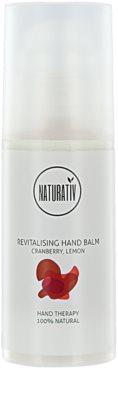 Naturativ Body Care Revitalising hidratáló kézbalzsam a száraz és érzékeny bőrre