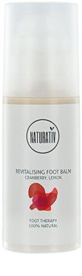 Naturativ Body Care Revitalising zvláčňující krém na nohy