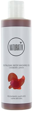 Naturativ Body Care Revitalising gel de ducha suave con efecto humectante
