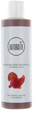 Naturativ Body Care Revitalising gel de dus matasos cu efect de hidratare