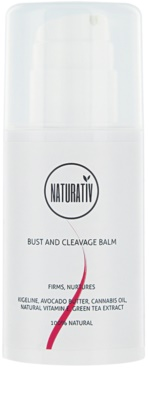 Naturativ Body Care Beautiful Bust bálsamo refirmante para decote e seios