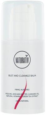 Naturativ Body Care Beautiful Bust zpevňující balzám na dekolt a poprsí
