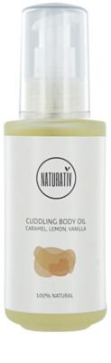 Naturativ Body Care Cuddling olje za telo z vlažilnim učinkom