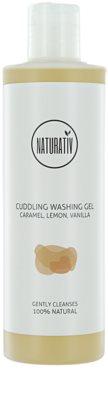 Naturativ Body Care Cuddling gyengéd tusfürdő gél glicerinnel