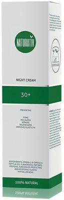 Naturativ Face Care 30+ krem na noc przeciw pierwszym oznakom starzenia skóry 1