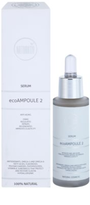 Naturativ Face Care ecoAmpoule 2 sérum intensivo con efecto antiarrugas 1
