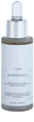 Naturativ Face Care ecoAmpoule 4 Intensywne serum dla skóry trądzikowej