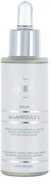 Naturativ Face Care ecoAmpoule 1 intensywna ochrona do cery wrażliwej i suchej