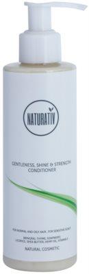 Naturativ Hair Care Getleness,Shine&Strength balzam za občutljivo lasišče