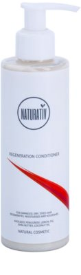 Naturativ Hair Care Regeneration balsam delicat pentru intarirea parului