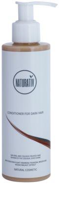 Naturativ Hair Care Dark acondicionador para resaltar el color del cabello