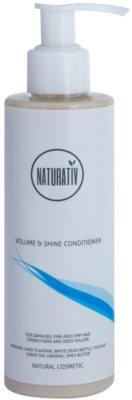 Naturativ Hair Care Volume&Shine kondicionáló finom és lesimuló hajra