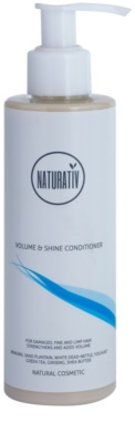 Naturativ Hair Care Volume&Shine kondicionér pro jemné a zplihlé vlasy