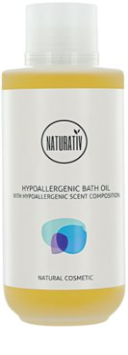 Naturativ Body Care Hypoallergenic Dusch- und Badeöle mit feuchtigkeitsspendender Wirkung