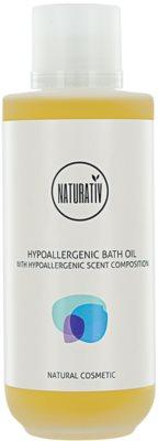 Naturativ Body Care Hypoallergenic olje za prhanje in kopel z vlažilnim učinkom