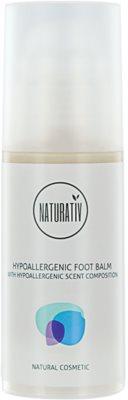 Naturativ Body Care Hypoallergenic відновлюючий бальзам для потрісканої шкіри ніг