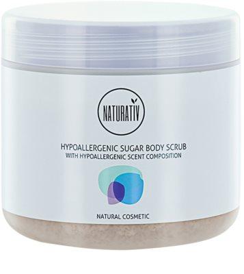 Naturativ Body Care Hypoallergenic цукровий пілінг для тіла